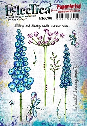 Paper Artsy - Eclectica Cling Mounted Rubber Stamps - Kay Carley 06