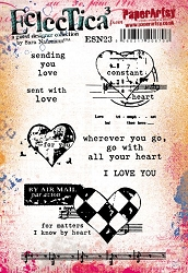 Paper Artsy - Eclectica Cling Mounted Rubber Stamps - Sara Naumann 23