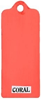 Paper Artsy - Fresco Finish Acrylic Paints - 50ml Bottle - Coral (translucent)