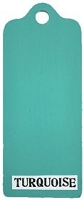 Paper Artsy - Fresco Finish Acrylic Paints - 50ml Bottle - Turquoise (opaque)