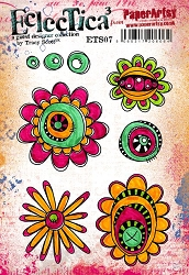 Paper Artsy - Eclectica Cling Mounted Rubber Stamps - Tracy Scott 07