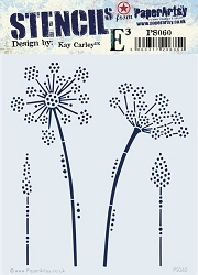 Paper Artsy - Stencil - {EKC} PS060 by Kay Carley