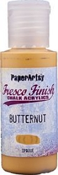 Paper Artsy - Fresco Finish Acrylic Paints - 50ml Bottle - Butternut (opaque)