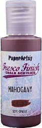 Paper Artsy - Fresco Finish Acrylic Paints - 50ml Bottle - Mahogany (semi-opaque)