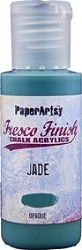 Paper Artsy - Fresco Finish Acrylic Paints - 50ml Bottle - Jade (opaque)
