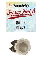 Paper Artsy - Fresco Finish Acrylic Paints - 50ml Bottle - Matte Glaze