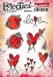 Paper Artsy - Eclectica Cling Mounted Rubber Stamps - Tracy Scott 04