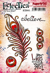 Paper Artsy - Eclectica Cling Mounted Rubber Stamps - Tracy Scott 05