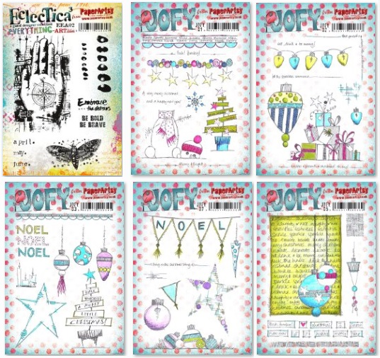 Paper Artsy - new stamps (EEA02 + Christmas Jofy)
