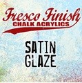 Paper Artsy - Fresco Finish Acrylic Paints - 50ml Bottle - Satin Glaze