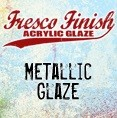 Paper Artsy - Fresco Finish Acrylic Paints - 50ml Bottle - Metallic Glaze