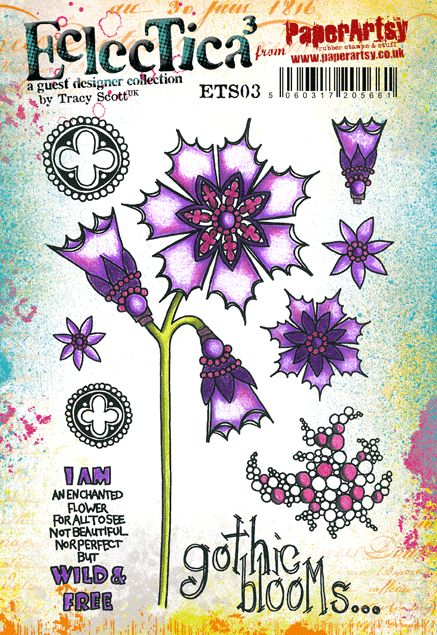 Cling Stamps - Eclectica Tracy Scott