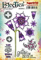 Paper Artsy - Eclectica Cling Mounted Rubber Stamps - Tracy Scott 03
