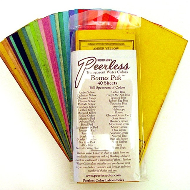 Peerless Water Colors
