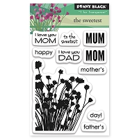 Penny Black - Clear Stamp - The sweetest