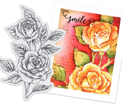Penny Black - April 2016 clear stamps and cling stamps