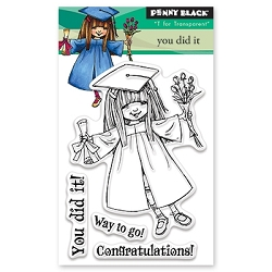 Penny Black - Clear Stamp - You Dit It