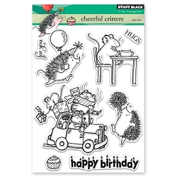 Penny Black - Clear Stamp - Cheerful Critters