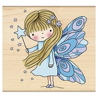 Penny Black - Wood mounted rubber stamp - Fairy Dust