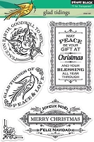 Penny Black - Clear Stamp - Glad Tidings