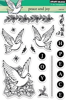 Penny Black - Clear Stamp - Peace and Joy