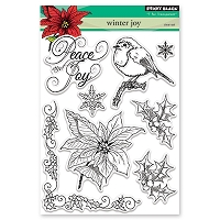 Penny Black - Clear Stamp - Winter Joy