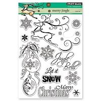Penny Black - Clear Stamp - Merry Jingle