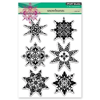 Penny Black - Clear Stamp - Snowbursts