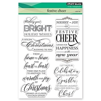 Penny Black - Clear Stamp - Festive Cheer