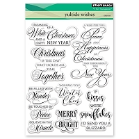 Penny Black - Clear Stamp - Yultide Wishes