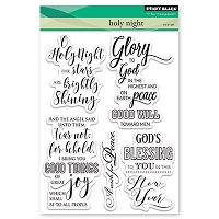 Penny Black - Clear Stamp - Holy Night