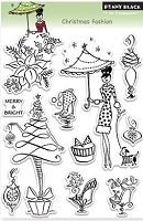 Penny Black - Clear Stamp - Christmas Fashion
