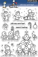 Penny Black - Clear Stamp - Cold Nose Warm Heart