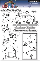 Penny Black - Clear Stamp - Silent Night