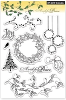 Penny Black - Clear Stamp - A wish for peace