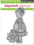 Penny Black-Slapsticks-Cling Stamp-Flower Girl