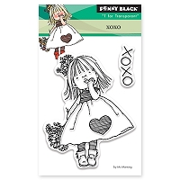 Penny Black - Clear Stamp - XOXO