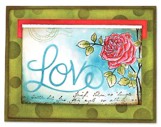 Penny Black - new Valentine's stamps and dies