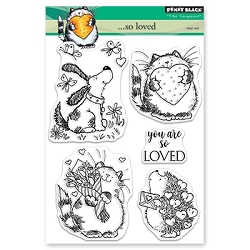 Penny Black - Clear Stamp - . . . So Loved