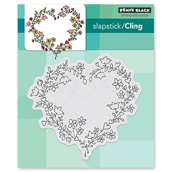 Penny Black - Slapstick Cling Stamp - Sweetheart