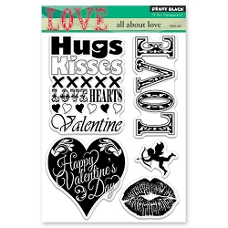 Penny Black - Clear Stamp - All About Love