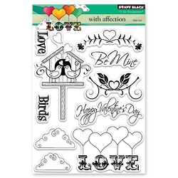 Penny Black - Clear Stamp - With Affection