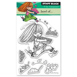 Penny Black - Clear Stamp - Bowl of . . .