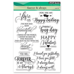 Penny Black - Clear Stamp - Forever & Always