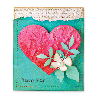 Penny Black - Valentine 2017 stamps and cutting dies
