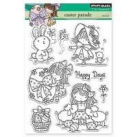 Penny Black - Clear Stamp - Easter Parade