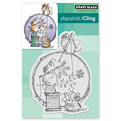 Penny Black - Slapstick Cling Stamp - Stitch In Time
