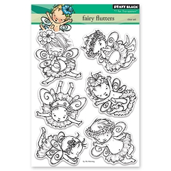 Penny Black - Clear Stamp - Fairy Flutters