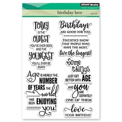Penny Black - Clear Stamp - Birthday Love