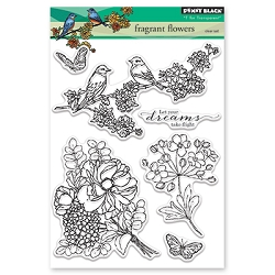 Penny Black - Clear Stamp - Fragrant Flowers